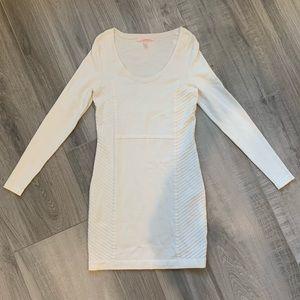 Victoria Secret Winter White Bodycon Dress